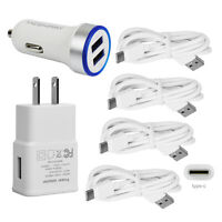 Fast Charging For Google Pixel 2 3 XL LED Car Wall Charger USB Type C Cord Cable