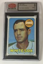 1969 Topps Baseball #75 Luis Aparicio (White Sox) SCD 8 NM/MT LB04-1927 Not PSA