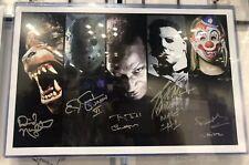 CJ Graham, Moran, Daeg Faerch +2 Signed Photo Rob Zombie Halloween Friday 13th