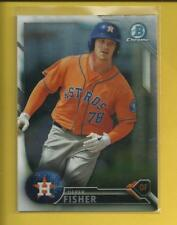 Derek Fisher RC 2016 Bowman Chrome Prospects Rookie Card #BCP125 Houston Astros