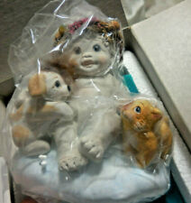 Dreamsicles Lets Get Together Cherub Angel Figurine Cd 006 1996 Signed