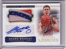2017/18 National Treasures Shawn Bradley Jersey Auto 20/25