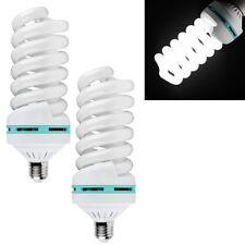 Energiesparlampe Dauerlicht Fotolampe Tageslicht 85W 5500K E27 Studiolampe 2er
