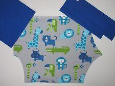 DIY Stoffpaket Nähpaket Nähset Pumphose ☆ Zoo blau-grün ☆