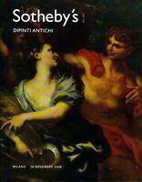 SOTHEBY'S. MILANO. DIPINTI ANTICHI. Catalogo asta 28 novembre 2006.