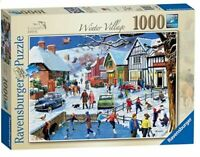 Ravensburger Leisure Days No.3 The Winter Village 1000 Pce Jigsaw puzzle NEW