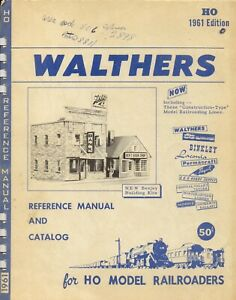 catalogo WALTHERS 1961 HO Model Railroaders edition USA  bb