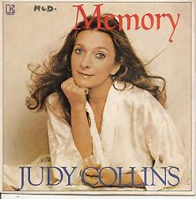 "45 TOURS / 7"" SINGLE--JUDY COLLINS--MEMORY / THE LIFE YOU DREAM--1982"