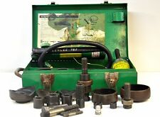 Greenlee 7646 Hydraulic Knockout Punch Driver Set With Hydraulic Ram 767