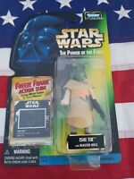 Star Wars Power Of The Force IshI Tib Action Figure Freeze Frame action slide