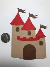 1 Castle #2 Premade PAPER Die Cuts / Scrapbook & Card Making