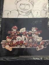 Cozy Cubbies Merry Christmas Tole Painting Pattern Debbie Mitchell Bears 1987