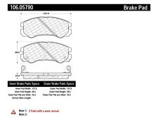 Disc Brake Pad Set Front Centric 106.05790