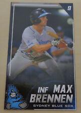 2019/20 Sydney Blue Sox (Australian Baseball League) MAX BRENNEN card