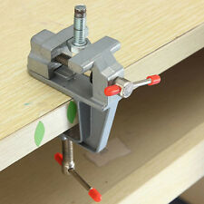 """3.5"""" Aluminum Small Jewelers Hobby Clamp On Table Bench Vise Mini Vice Super"""