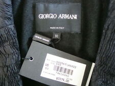 NWT$3375 GIORGIO ARMANI Made in ITALY Elegant Single Breasted Jacket Tag Sz 50