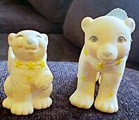My Little Pony Moon Dreamers Ursa Minor & Major w saddle polar bear hasbro 1986