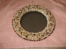 Sea Shell Mirror with rare hard to find shells unique shells
