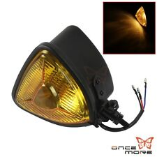 Motorcycle Head Light Headlight Steel Universal Fit  Harley Chopper Cafe Racer