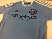 NEW MENS ADIDAS NEW YORK CITY FOOTBALL CLUB SOCCER JERSEY-MULTIPLE SIZES