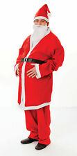 Adult xmas Costume - Santa Budget (Felt)