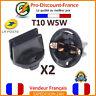 2 x Connecteur Soquet Compteur T10 W5W Douille Culot Adaptateur Ampoule Voiture