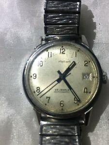 Cortebert ETA 25 jewel automatic watch 1960s