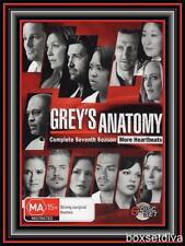 GREY'S ANATOMY -COMPLETE SEASON  7 - AUSTRALIAN RELEASE *BRAND NEW DVD