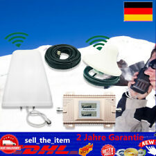 NEU GSM/DCS 900/1800MHz Verstärker Repeater Booster Komplett Set mit Antenne DE