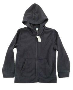 Old Navy Boys Long Sleeve Black Hoodie Size M 8