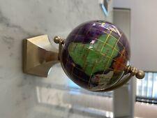 Alexander Kalifano Gemstone Globe -6 inches
