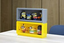 SF-PFCS-YEL: Designer Display Case for Vinyl Toys Figures, Collectibles - Yellow