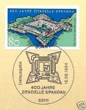 BRD 1994: ciudadela Spandau nº 1739 con sólo bonn etiquetas sello especial! 1a 1510