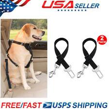 New listing Cat Dog Pet Safety Seat Belt Restraint Belt for Car Adjustable Harness Lead