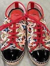 Authentic Fendi espadrilles / Tennis Shoes Size 39