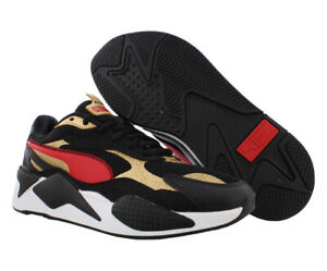 Puma RS-X3 CNY Mens Shoes Size 6, Color: Black/High Risk Red/Teamgold