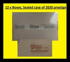 2020 AFL SELECT FOOTY STARS PRESTIGE 12x BOX FACTORY SEALED & CASE CASE CARD