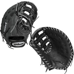 """2022 Wilson A1000 12.5"""" Baseball First Base Mitt 1620 Model WBW100140125"""