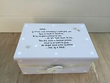 Shabby Personalised Chic Jewellery Box Gift For A Special Best Friend Birthday