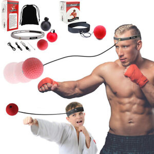 Aaweal Boxing Head Band Fight Ball  Reflex Speedball Punch Exercise