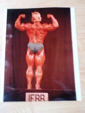 Bodybuilder TOM PLATZ bodybuilding muscle posing contest photo 8 X 10