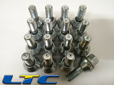16x Zinc Plated M12x1.25 Variable PCD Wobbly Alloy Wheel Bolts To Fit Fiat.