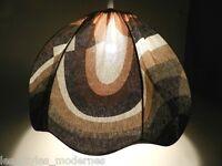 Lampe à Suspension°Élégant 70er Années Tissu Lampe ° Verner Panton (Z)
