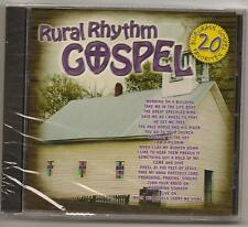 "20 BLUEGRASS GOSPEL, CD ""VARIOUS ARTISTS"" NEW SEALED,  RURAL RHYTHM LABEL"