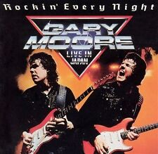 GARY MOORE-ROCKIN' EVERY NIGHT'(LIVE IN JAPAN)-REMASTERED CD WITH 3 BONUS-2002