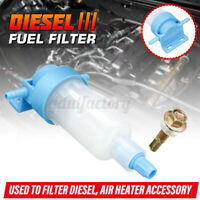 Diesel Fuel Oil Water Filter Separator For Webasto Eberspacher Heater Camper RV