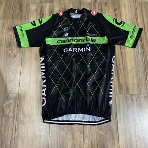 Castelli Cannondale Garmin Cycling Jersey Size Men's XL