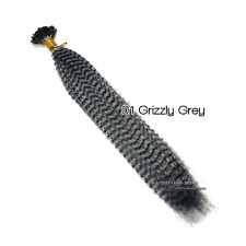 "16"" Grizzly Synthetic Feathers Hair Extensions 10 Color Choose"