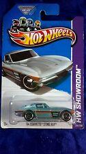 Hot Wheels '64 Corvette Sting Ray Blue Diecast 1:64 HW Showroom 2013