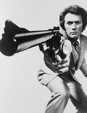 CLINT EASTWOOD DIRTY HARRY CLOSE UP GUN MOVIE STAR 8X10 GLOSSY PHOTO PICTURE